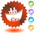 Seal Set - Boat Royalty Free Stock Photo