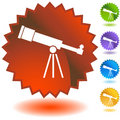 Seal Set - Telescope Royalty Free Stock Photo