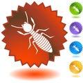 Seal Set - Termite Royalty Free Stock Photo