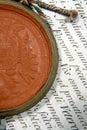 Sealing wax Royalty Free Stock Photo