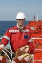 Seamen - boatswain Stock Photos