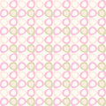 Seamles pattern with pink and olive ovals cute Stock Image