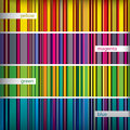 Seamles pattern stripes set. Vector. Stock Image