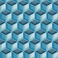 Seamless 3d tile pattern Stock Images