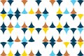 Seamless, abstract background pattern made with circular shapes