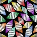 Seamless abstract background with stripped gradient multicolor elements Royalty Free Stock Photo