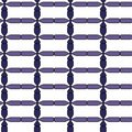 Seamless abstract blue pattern Royalty Free Stock Image