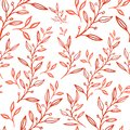 stock image of  Seamless abstract floral pattern,  hand drawn illustration can be used for textile printing or background, wallpaper,  ad, banner