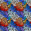 Seamless abstract floral pattern model for design of gift packs patterns fabric wallpaper web sites etc Stock Image