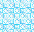 Seamless abstract geometric background made of glossy bright square figures Royalty Free Stock Photo