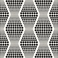 Seamless abstract geometric dots background Royalty Free Stock Photo