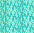 Seamless abstract geometric hexagonal pattern -vector eps8