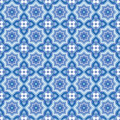 Seamless abstract geometric pattern Stock Photo