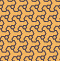Seamless abstract geometric pattern from hexagons - vector eps8