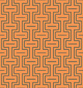 Seamless abstract geometric pattern with lines and rectangles -vector eps8