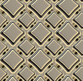 Seamless abstract geometric square background Royalty Free Stock Photo