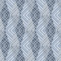 Seamless abstract geometric zigzag ornament in light grey tones.