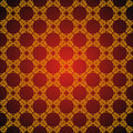 Seamless abstract golden orient pattern Royalty Free Stock Photo