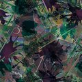 Seamless abstract grunge pattern in urban style.