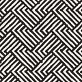 Seamless abstract hand drawn pattern. Vector freehand lines background texture. Ink brush strokes geometric design. Royalty Free Stock Photo