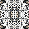 Seamless Abstract Kaleidoscope...
