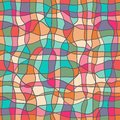 Seamless abstract pattern bright colors Royalty Free Stock Photo