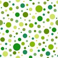 Seamless abstract pattern of circles of different tint and hue of green color.. Kaleidoscope background. Royalty Free Stock Photo