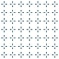 Seamless abstract pattern created from repetition of plus sign symbols