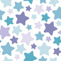 Seamless abstract pattern with cute stars