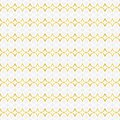 Seamless abstract pattern of four-pointed stars and other shapes in white, gray, gradient yellow colors gold line art.
