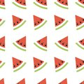 Seamless abstract pattern geometric illustration with melons, summer wallpaper for textile printing or background, banner