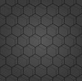 Seamless Abstract Pattern With Hexagons