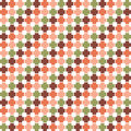 Seamless abstract pattern. Modern elegant neutral wallpaper. Royalty Free Stock Photo