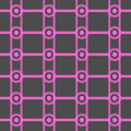 Seamless Abstract Pattern from Rectangles and Circles