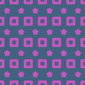 Seamless Abstract Pattern from Rectangles and Stars