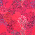 Seamless abstract pattern. Simple geometric elements drawn by ha