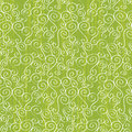 Seamless abstract pattern with swirls Stock Photography
