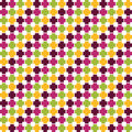 Seamless abstract pattern texture can be used for printing onto fabric and paper or scrap book vintage ornament wallpaper Stock Image