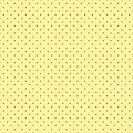 Seamless abstract polka dot shapes on yellow background for fabric, wallpaper, tablecloths, prints and designs. The EPS file