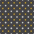 Seamless abstract retro geometric pattern. Blended rectangles and stars in vertical layout.