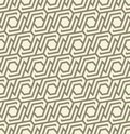 Seamles geometric pattern from lines and hexagons in gray colors - vector eps8