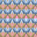 Seamless abstract triangle pattern model for design of gift packs patterns fabric wallpaper web sites etc Stock Photography