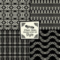 Seamless abstract vector pattern collection ethnic tribal stylei