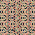 Seamless abstract vintage pattern vector illustration Royalty Free Stock Images