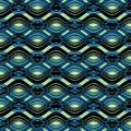 Seamless abstract wave pattern Royalty Free Stock Images