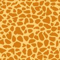 Giraffe skin texture, seamless pattern, repeating the orange and yellow spots, background, Safari, zoo, jungle. Vector.