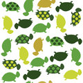 Seamless animal pattern for kids Royalty Free Stock Photos