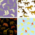 Seamless Animal Patterns