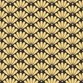 Seamless antique palette oriental floral pattern vector
