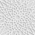 Seamless arabic geometric  pattern, east ornament, indian ornament, persian motif Royalty Free Stock Photo